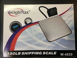 Weighmax W-4820 Industrial Postal Scale 150lb Used But Working Lbs/kg