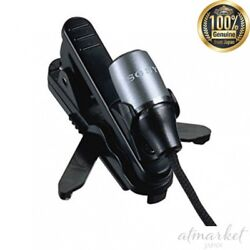 Sony Ecm-c10 Condenser Microphone Mono Business Holder Clip Included From Japan