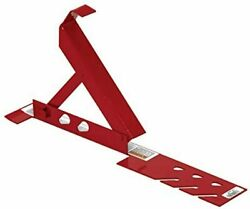 Adjustable Roofing Bracket Red, 10 Inch - Roofing Tools Fast Free Shipping