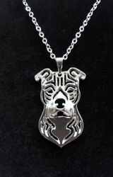 Staffordshire Bull Terrier Dog Cute necklace 18