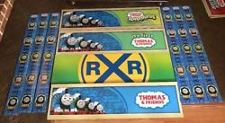 """Toys R Us Display Thomas And Friends Train Banners 4 12"""" X 48"""""""