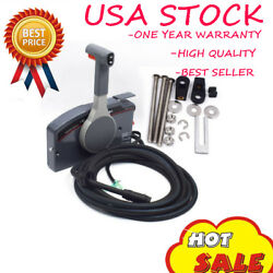 Outboard Remote Control Box with 10 Pin Cable 703-48205 Right Side for Yamaha