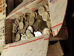 200 Circulated Kennedy Half Dollars 100 Face Value Random Dates And Mint Marks