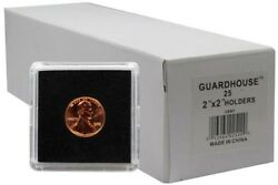 2x2 Tetra Snaplocks Safe Coin Holders For Small Cents/penny 1 Pack Of 25 Free Us