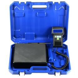 Yaufey Digital Refrigerant Electronic Charging Scale 220 Lbs with Case
