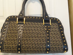 Fendi designer bag limited edition with matching wallet