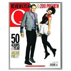 Q Magazine January 2011 Mbox2679 50 Albums Of The Year Arcade Fire