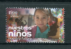 Mexico 2018 Mnh Our Children Our Future 1v Set Cultures Ethnicities Stamps