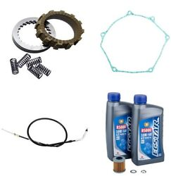 Suzuki Rmz250 2013-2019 Tusk Comp Clutch Springs Gasket Cable And Oil Change Kit