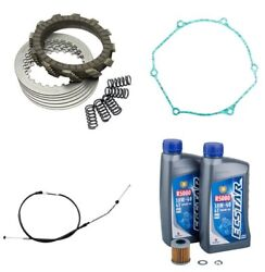 Suzuki Rmz450 2005-2007 Tusk Clutch Springs Cover Gasket Cable And Oil Change