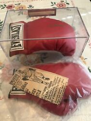 Muhammad Ali Autographed Boxing Gloves Auth'd By All-american Authentications
