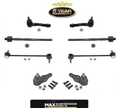 04-08 Forenza 05-08 Reno Inn And Out Tie Rod Ends Ball Joints Sway Bar Links 8pc