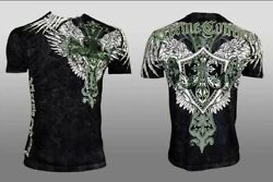 XTREME COUTURE by AFFLICTION LONG VIEW Men#x27;s T Shirt $23.99