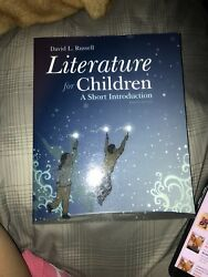 Literature For Children A Short Introduction By David L. Russell 2014...