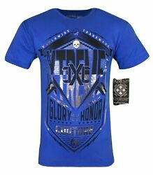 Xtreme Couture Affliction Menand039s T-shirt Crowley Biker Mma Gym S-4x