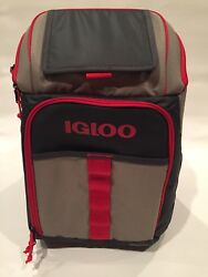 Igloo Ringleader Backpack Portable Camping Hiking Cooler Leak Resistant FreeShip