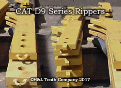 7j1795 Dozer D9 Forged Ripper Shank, Cat R450 Series Tooth By Handl Tooth Co.
