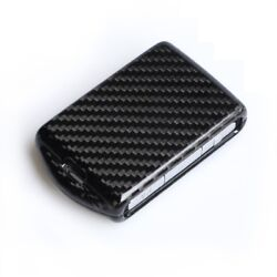 Real Carbon Fiber Smart Key Case Shell Fit For Volvo 2018 XC90 XC60 S90 V90