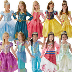 Storyteller Girls Fancy Dress Disney Princess Book Day Week Childs Kids Costumes