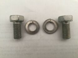1957-58 Corvette W/ 283 And Fi Indented Hex Bolts 5/16-24x5/8 And039b And Hand039 Head Mark
