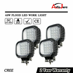 4x 48W 5inch LED WORK LIGHT BAR CREE Offroad JEEP 4X4 truck Boat SUV 4WD 12V 24V