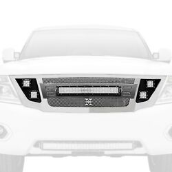 T-Rex 6317870 Torch Series Grille wLED Light Bar for 10-17 Nissan Patrol
