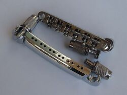 Chrome Tune-o-matic Bridge And Stop Tail Bar For 12 String Electric Guitar