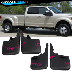 Fits 11-16 Ford F250 F350 Superduty Without Fender Flares Mud Flaps Mud Guards