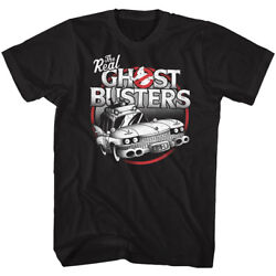 The Real Ghost Busters Ecto-1 Adult T Shirt