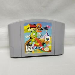 Chameleon Twist 2 Nintendo 64 N64 Game Cartridge Pins Cleaned FAST FREE SH