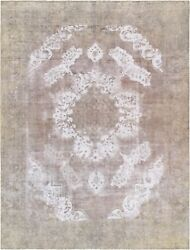 Pasargad Vintage Overdye Collection Hand-knotted Lamb's Wool Rug- 9' 2 X 12' 6
