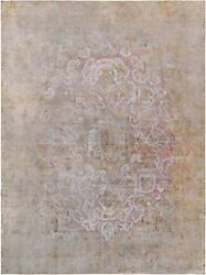 Pasargad Vintage Overdye Collection Hand-knotted Lamb's Wool Rug- 9' 5 X 13' 1