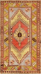 Pasargad Vintage Oushak Collection Hand-knotted Lamb's Wool Rug- 3' 7 X 6' 9