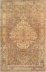 Pasargad Vintage Sivas Collection Hand-knotted Lamb's Wool Rug- 5' 0 X 7' 9