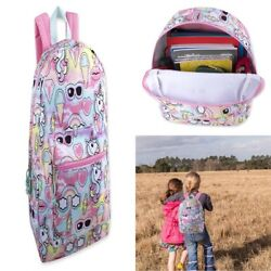 CUTE Large Unicorn Middle School Backpack for TeenLittle 6th Grade Girl Pink