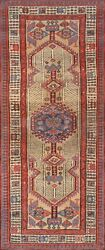 Pasargad Antique Serab Collection Hand-knotted Lamb's Wool Runner- 2' 10 X 6'