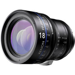 New Schneider Xenon FF 18mm T2.4 Lens with Canon EF Mount (Meters) 09-1088005