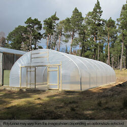 28ft Wide Poly Tunnel Commercial Garden Polytunnel Polythene Covers Spares