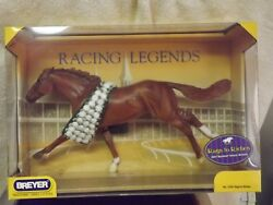 Breyer #1329 Rags to Riches Ruffian Thoroughbred Racehorse wrose blanket NEW