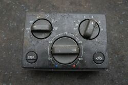 Heat AC Climate Control Switch Panel 64502200 OEM Ferrari F355 1999 *Note*