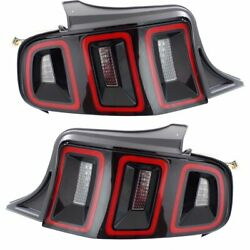 FO2801233 FO2800233 New Set of 2 Tail Lights Lamps Driver & Passenger Side Pair