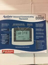 Aprilaire Universal Communicating Touch Screen Thermostat 8800