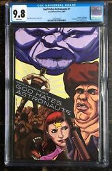 God Hates Astronauts 1 Ryan Browne Self Published Limited To 50 Copies Cgc 9.8