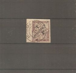 Stamp Spm Saint Pierre And Miquelon Frankreich 1892 Nanddeg58 Cancelled Used Sign