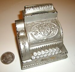 New Year...new Price A Penny A Day Cash Register Bank Circa 1930's
