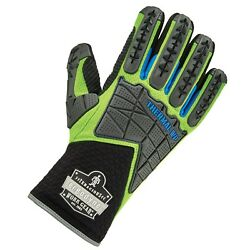 Ergodyne Proflex 925wp Thermal Waterproof Work Gloves With Back Hand Protection