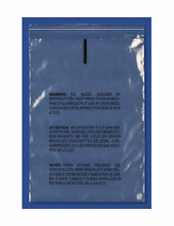 Large Resealable Poly Bags W/ Suffocation Warning Clear 16 X 20 1.5 Mil 10000