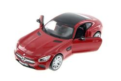 Maisto 124 Scale Mercedes Amg Gt Red Collectable Diecast Model Car Toy 31134r