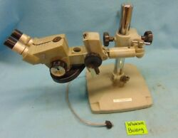 American Optical Vintage Spencer Stereo Microscope 10x, W/boom Arm And Base