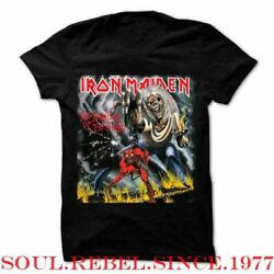 IRON MAIDEN THE NUMBER OF THE BEAST PUNK ROCK HEAVY METAL  MEN'S SIZES  T SHIRT $10.99
